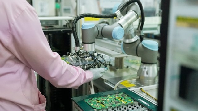 Electronics industry growth driving manufacturing automation