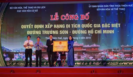 Ho Chi Minh Trail recognised as special national site