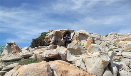 Ninh Thuan stone park's raw beauty