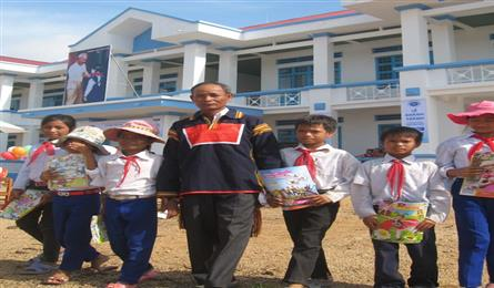 Gia Lai man donates and calls for land donation to build schools
