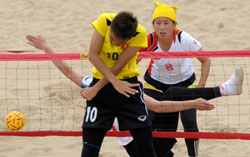 First silver for Vietnam at Beach Games