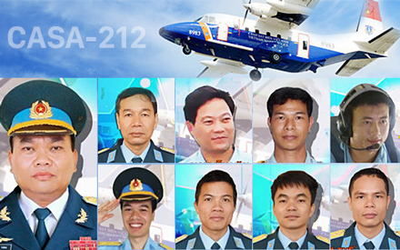 Casa 212 crew to be posthumous promoted