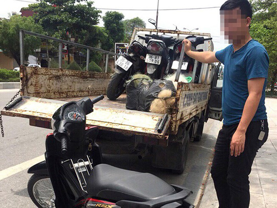 Thanh Hoa Police want nets to catch illegal racers