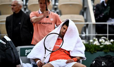Gone with the wind as Djokovic, Thiem blown off course at Roland Garros