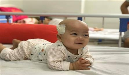 Little boy with two types of cancer in need of help