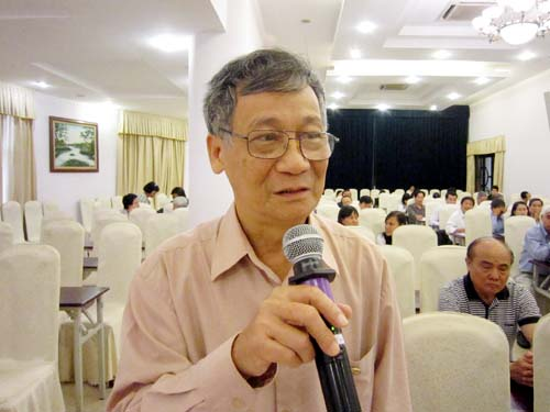 Vu Trong Hong, chairman of the Vietnam Irrigation Association