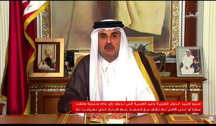 Qatar emir ready for Gulf crisis talks with conditions