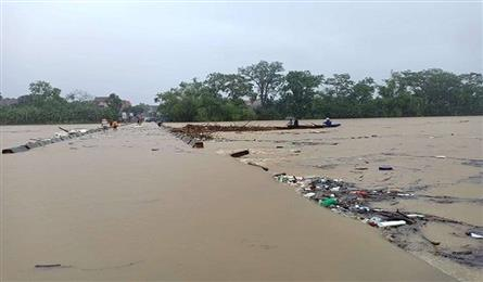One killed as Ha Tinh ravaged by floods