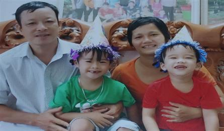Husband calls for help for ill son and wife