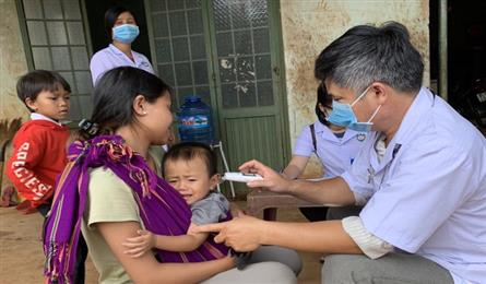 Gia Lai closes schools as diphtheria spreads
