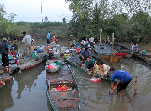 Mekong Delta awaits floods