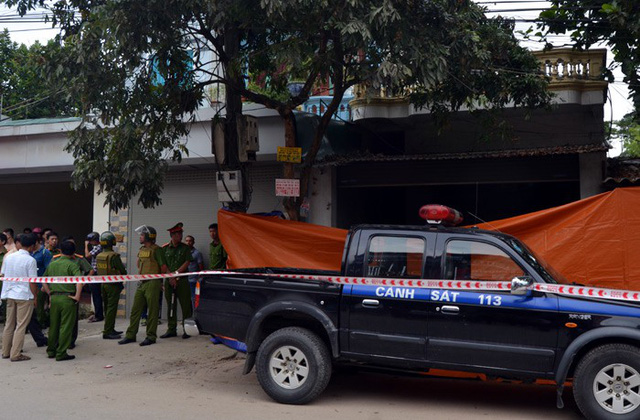 Couple shot dead at home