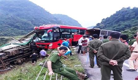 Three killed in deadly bus accidents
