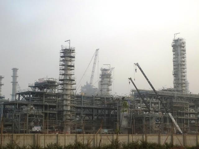 Oil refinery project suspected of polluting environment