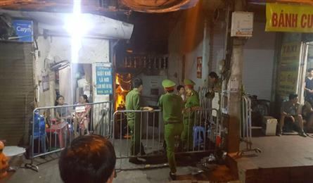 Human remains found in Hanoi fire rubble
