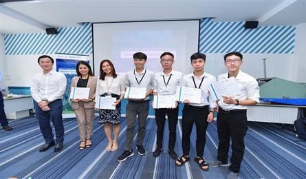 Danang students win eProjects prize with marine cleaning project