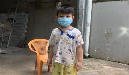 Little boy in need after losing mother to Covid-19