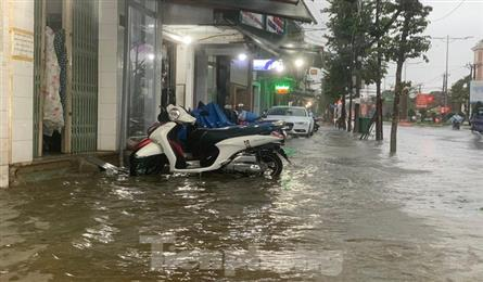 Quang Ngai flooded after heavy rain