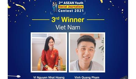 Vietnamese students win ASEAN prize for idea of reducing plastic waste