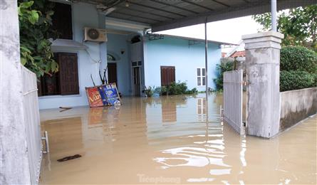 Nghe An submerged after torrential rain