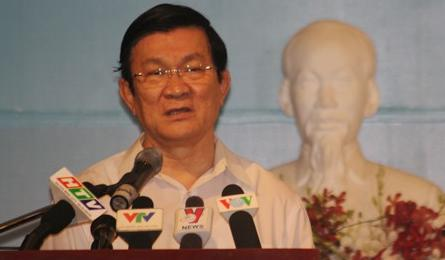 President: Vietnam protects national sovereignty with measures
