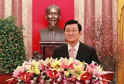 Top leaders extend New Year Greetings