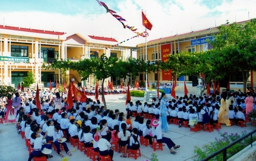 Only a few of general schools in Vietnam can meet standards