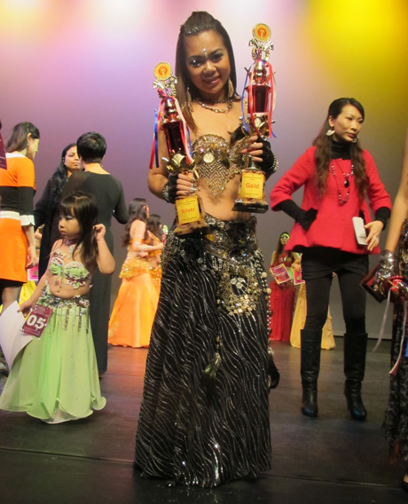 Vietnam triumphs at regional belly dance competition