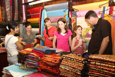 Vietnamese silk – a national treasure