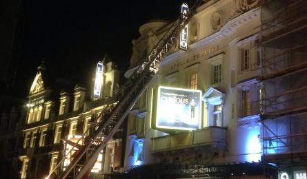 Scores injured as London theatre roof collapses