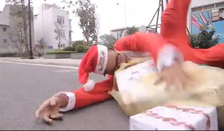 Christmas video mocking capsized beer truck incident goes viral