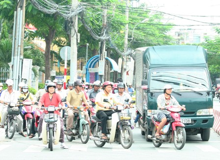 HCM City stands firm on easing traffic congestion and