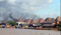 Old kilns pollute southern skies