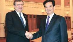 Co-operative ties with Ukraine get a boost with envoy's visit
