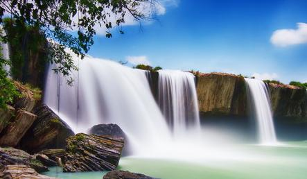 Dray Nur waterfall- symbol of beauty in the Central Highlands
