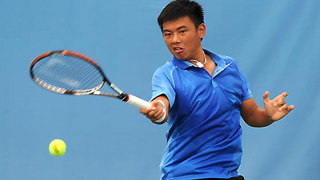 Nam wins second gold at Asian junior tennis tournament