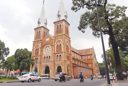 HCM City Cathedral faces first restoration