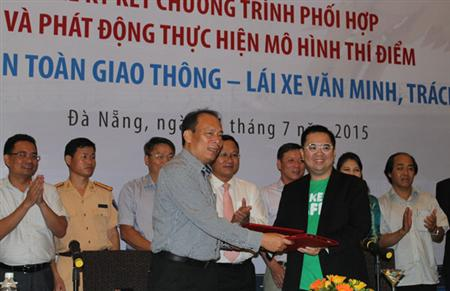 Danang first joins free taxi home for drinkers