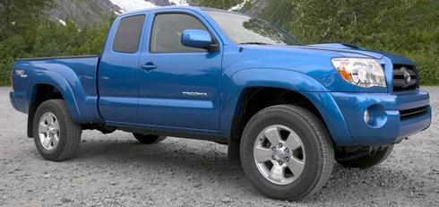 Toyota sets US recall of 8,000 Tacoma pickups