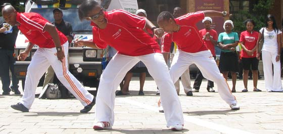 South African dancers off to Vietnam to promote the 2010 World Cup