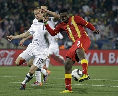 Gyan fires Ghana past USA into W.Cup last eight