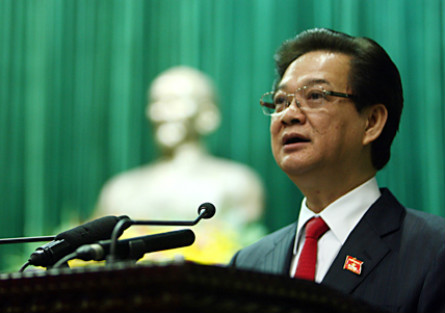 Vietnam's Prime Minister re-elected