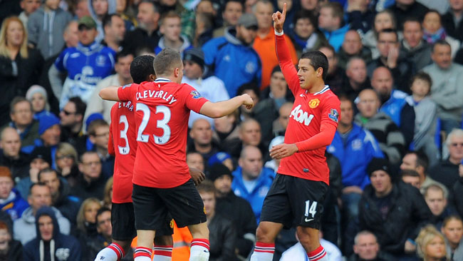 Improved Manchester United too good for Everton with 1-0 win