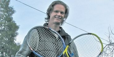 A business man offers tennis trips to the Far East