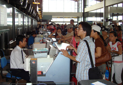 Air ticket prices on the rise
