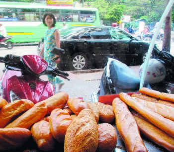 Hunt for French bread in Vietnam and you find a slice of culture