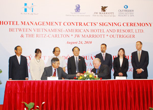 Marriott, Ritz-Carlton, Outrigger ink deals to manage 3 resorts in Vietnam