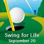 Golfers tee off against heart disease