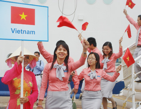 29 Vietnamese youths to join regional ship