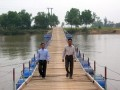 Residents to fund pontoon bridge in central province